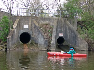 CSO in the Gorge Section of the Cuyahoga River
