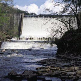 Gorge Dam in Cuyahoga Falls