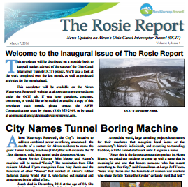 Akron Waterways Renewed – The Rosie Report