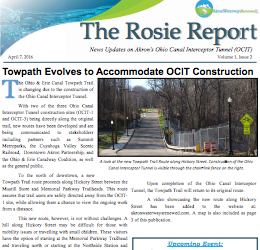 The Rosie Report: April 2016