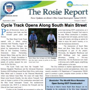 Rosie Report September 2016