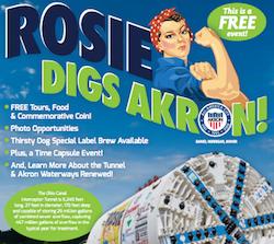Rosie Digs Akron: 8/19