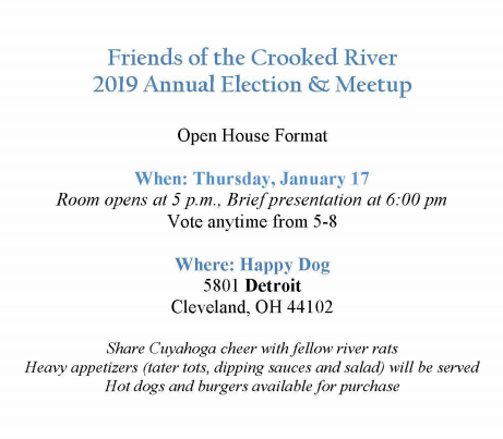 2019 Annual Election & Meetup – Friends of the Crooked River