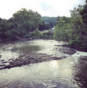 Cuyahoga River on Instratgram